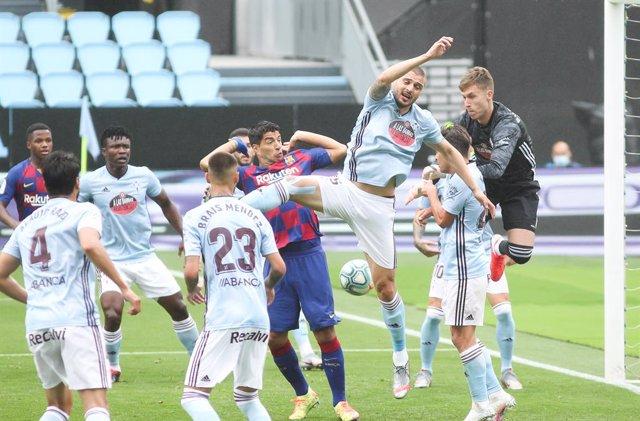Fútbol/Primera.- Crónica del RC Celta de Vigo - FC Barcelona, 2-2