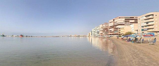 Playa El Acequión de Torrevieja