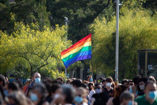 Manifestación del Orgullo LGTBI en Barcelona