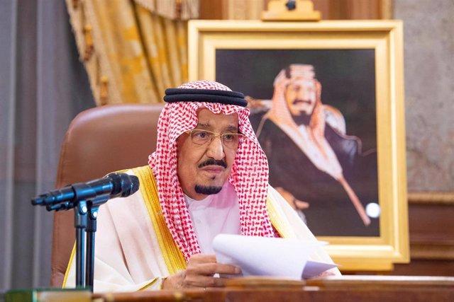 El rey Salmán de Arabia Saudí