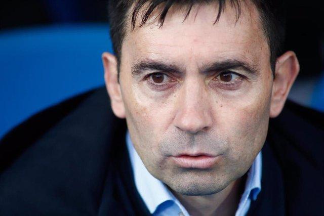 El entrenador del Alavés, Asier Garitano
