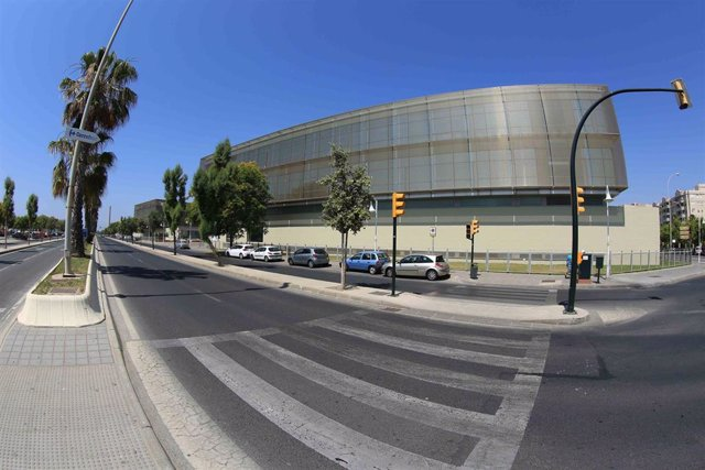 Fachada de la Diputación de Málaga