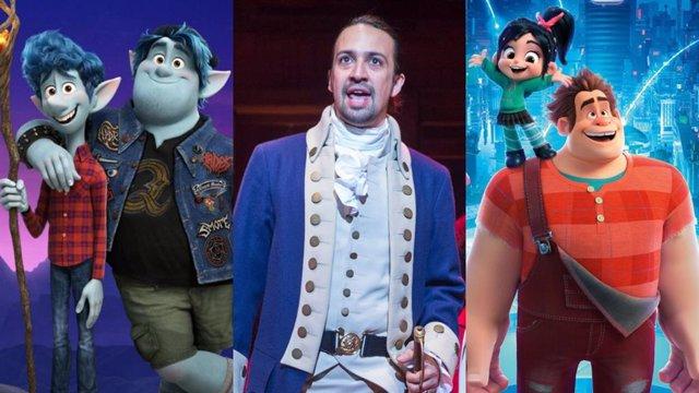 Hamilton, Rompe Ralph y Onward, estrenos destacados de julio en Disney+
