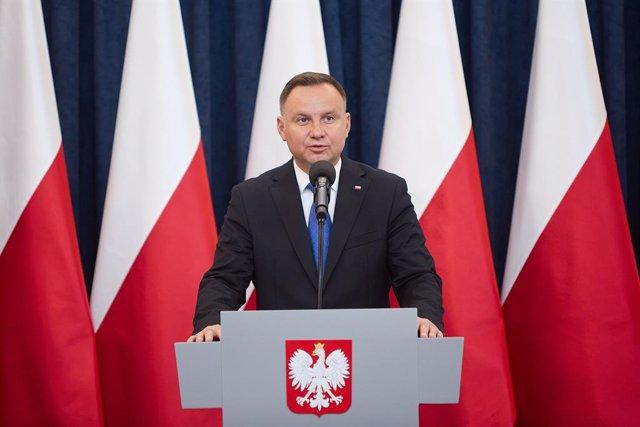 El president de Polònia, Andrzej Dubte