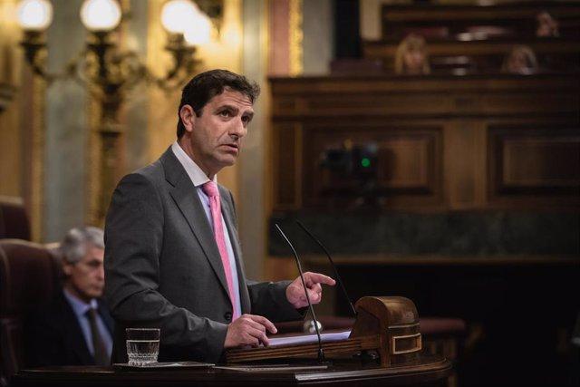 El diputado del PPRM y portavoz de Transformación Digital, Juan Luís Pedreño