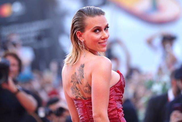 Scarlett Johansson en la premiere de 'Marriage Story' en el Festival de Venecia