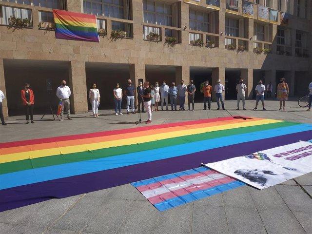 Acto día del Orgullo en Logroño
