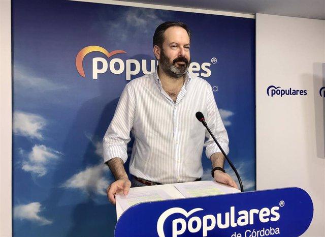 El presidente del PP cordobés y diputado autonómico, Adolfo Molina, en una foto de archivo