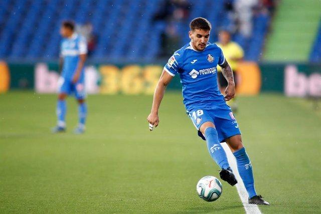El jugador del Getafe Mauro Arambarri
