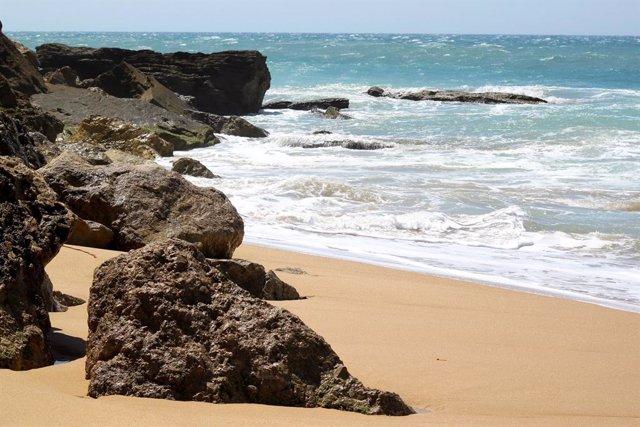 Playa De Los Caños De Meca En Barbate (Cádiz) en una imagen de archivo.