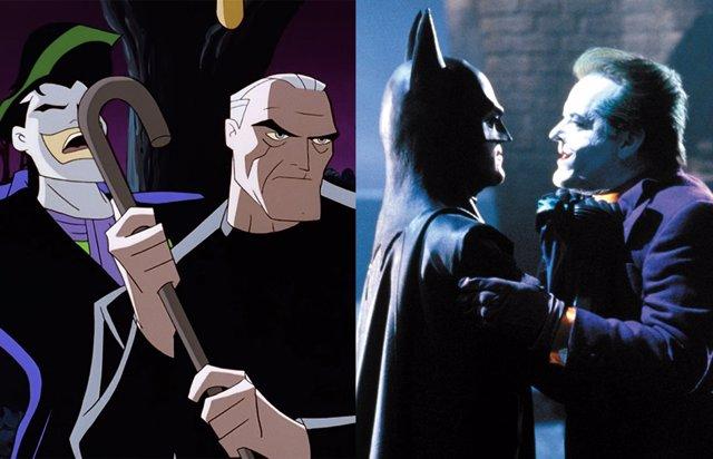 Michael Keaton es el viejo Bruce Wayne en éste genial póster fan