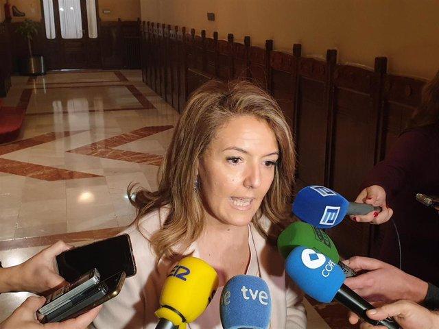 La portavoz del PP en la Junta General, Teresa Mallada.