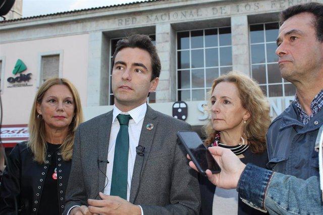 Pedro Casares, líder del PSOE de Santander