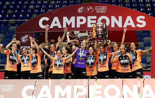 El Pescados Rubén Burela campeón de la Primera División de fútbol sala femenino