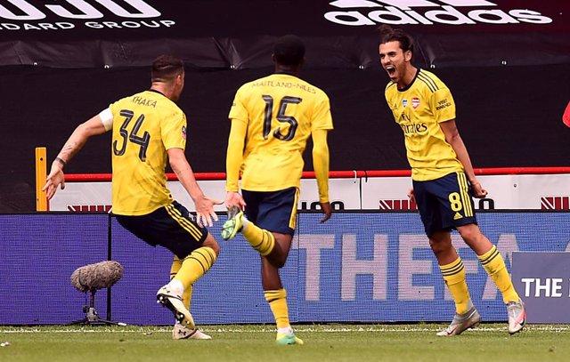 Fútbol.- (Crónica) Ceballos mete al Arsenal en semifinales de FA Cup
