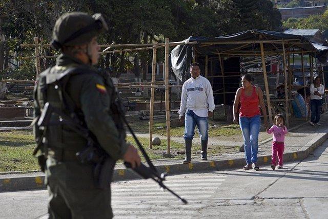 Un soldado en Colombia