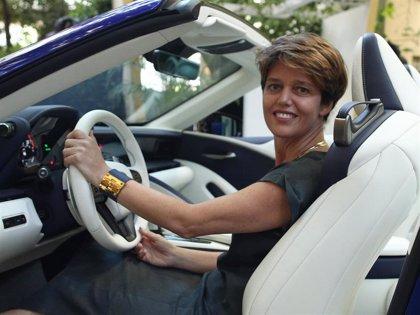 Mar Pieltain presenta el nuevo lexus 500 Cabrio en Madrid