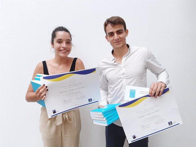 Iryana C. Morales y Enrique Subiales, ganadores de la primera edición del Premio Benito Pérez Galdós de Narrativa Joven