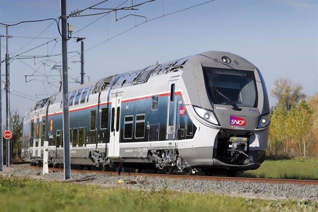 Tren fabricado por Bombardier