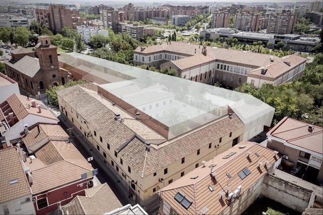 PSOE pide parar actuaciones en el casco de Hortaleza hasta que el gimnasio tenga licencia