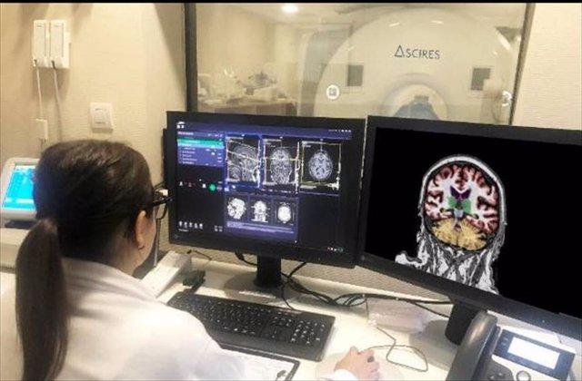 La plataforma calcula volúmenes y realiza tractografías cerebrales, para diagnosticar enfermedades como el Alzheimer, la demencia, la epilepsia o la esclerosis múltiple.
