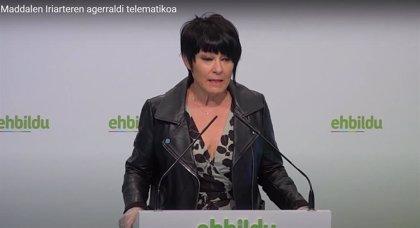 """EH Bildu dice que la Ertzaintza debe """"proteger al pueblo"""" de los actos """"fascistas"""" de Vox y no """"darle la espalda"""""""