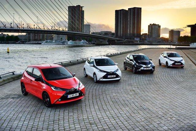 Coches de Toyota.
