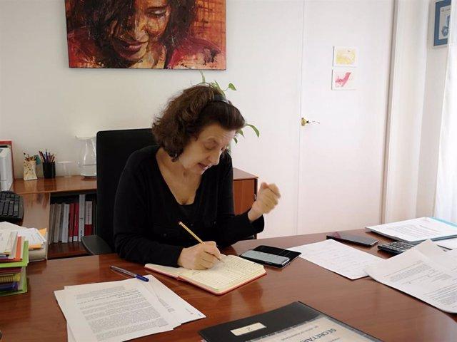 La consellera de Asuntos Sociales y Deportes del Govern balear, Fina Santiago.