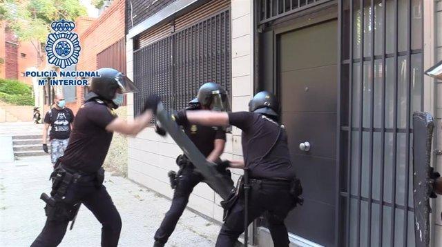 Desarticulado un grupo criminal itinerante dedicado a robos con fuerza en oficinas y comercios