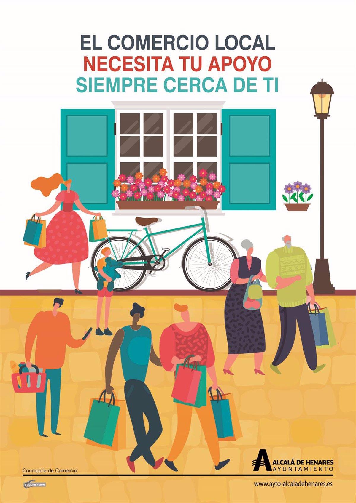 El Ayuntamiento De Alcalá De Henares Pone En Marcha Una Campaña Para Apoyar El Comercio Local