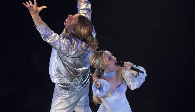 Will Ferrell  Y Rachel Mcadams En  Eurovisión: La Historia De Fire Saga, La Película De Netflix