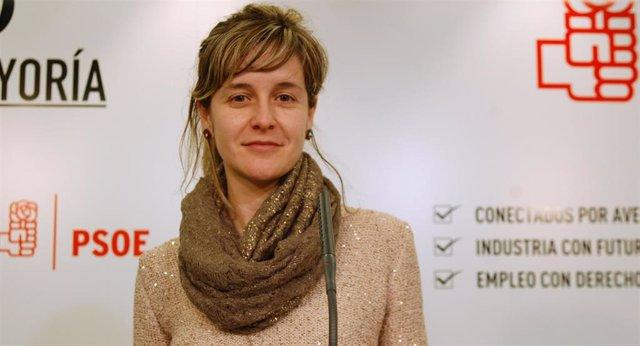 La diputada socialista Sara Orradre