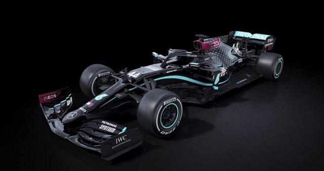 Nuevo aspecto del monoplaza Mercedes