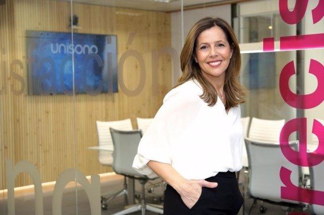 Sandra Gibert, directora general de Grupo Unísono,