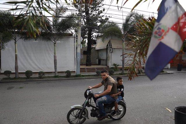 Vista de una calle de Santo Domingo, en República Dominicana (Imagen de archivo)