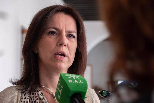 La parlamentaria andaluza del Grupo Popular y presidenta de la Subcomisión de Sanidad y Salud Pública en la Comisión de Estudio para la Recuperación Económica y Social de Andalucía, Ana Vanessa García
