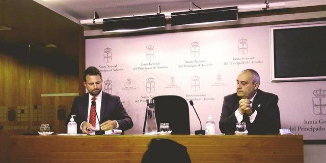 Alvaro Quiepo y Javier Brea.