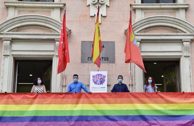 Arrancan los actos del Orgullo 2020 en Alcalá