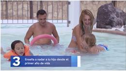 Fotograma de uno de los clips audiovisuales con consejos para tener un verano seguro en el agua realizados por la plataforma 'Canarias, 1.500 km de costa'