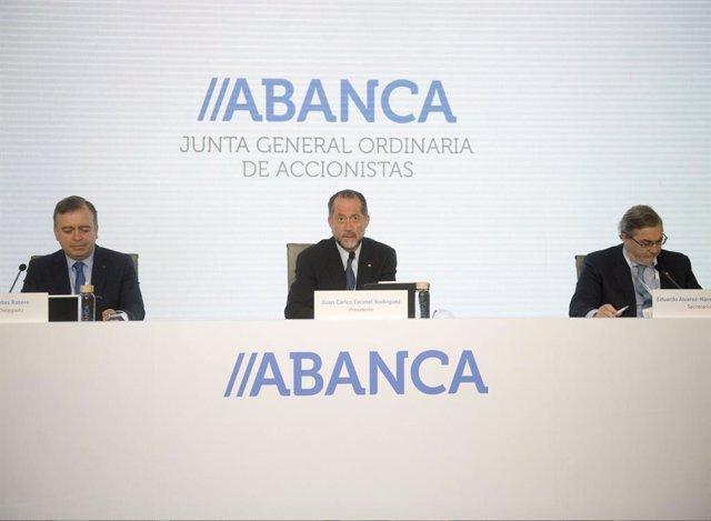 Economía.- La junta general de accionistas de Abanca aprueba las cuentas de 2019