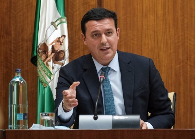 El presidente de la Diputación, Javier Aureliano García (PP)
