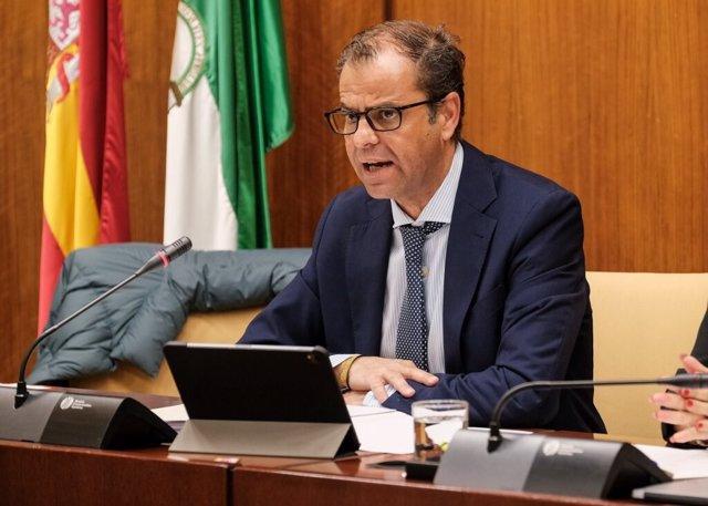 El director general de la RTVA, Juande Mellado