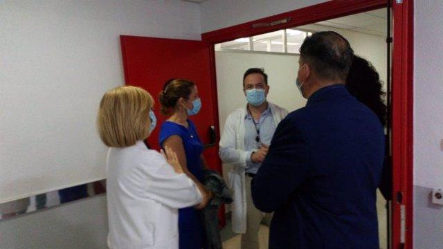 Visita ala Unidad del Dolor del Hospital de Úbeda