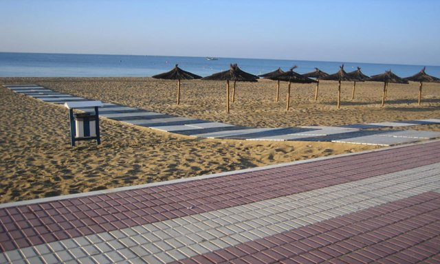 Playa Central de Isla Cristina (Huelva)