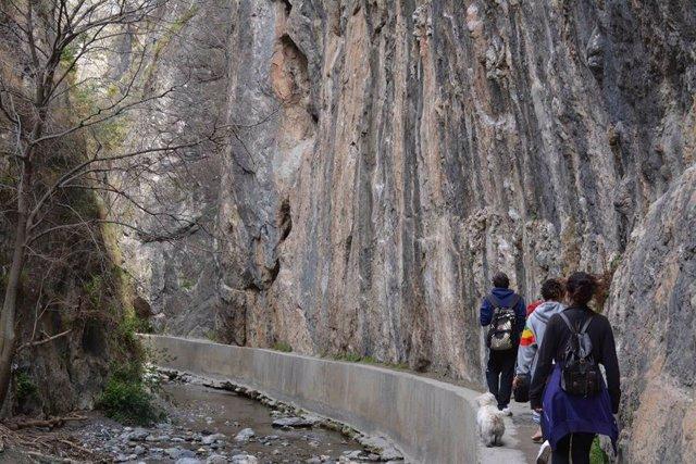 Turismo activo en Los Cahorros
