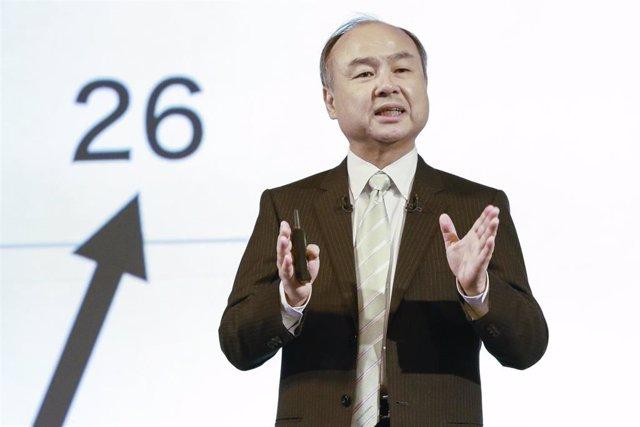 Masayoshi Son, consejero delegado de SoftBank