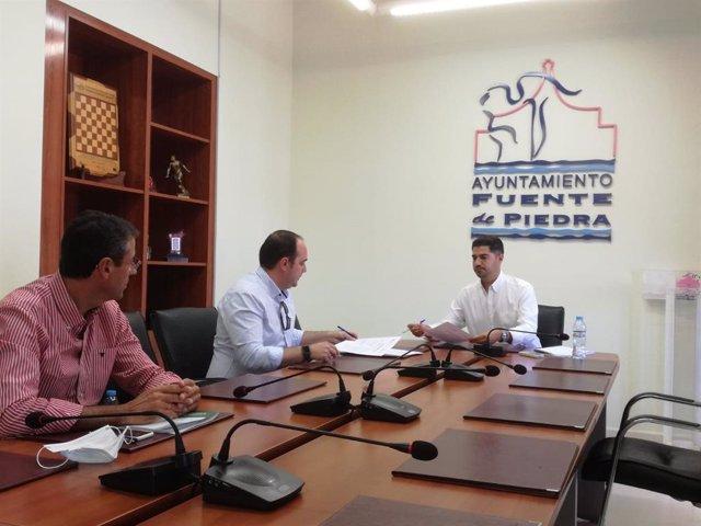 La Junta Finaliza Las Obras Del Sondeo Para El Abastecimiento De Agua En Fuente De Piedra