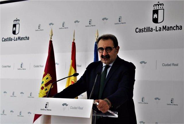 Consejero de Sanidad, Jesús Fernández Sanz,