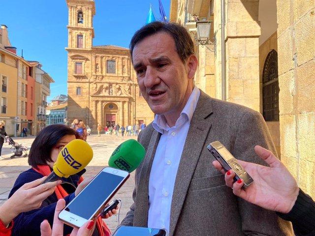 Concejal de Economía del Ayuntamiento de Oviedo, Javier Cuesta.