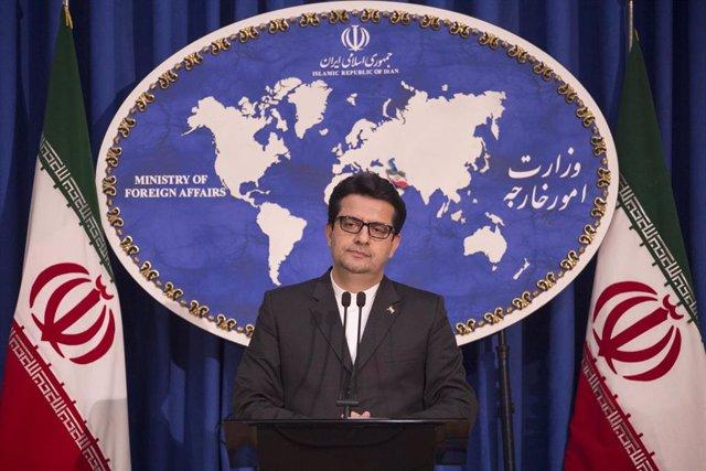 El portavoz del Ministerio de Exteriores de Irán, Abbas Musavi